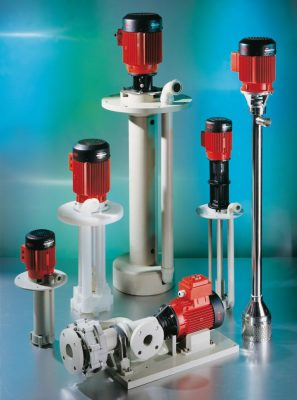 Flux - Vertical Chemical Centrifugal Pump01